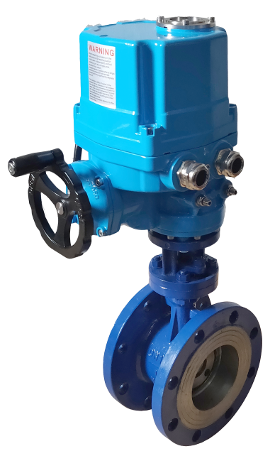 Explosion proof IP67 quarter turn on off actutaor butterfly valve.png